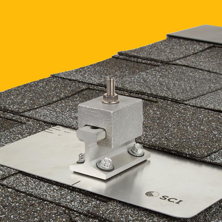 Asphalt Shingle System Rail Less Products Solar
