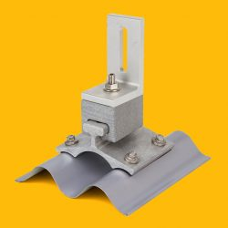 Corrugated PowerMount with Universal L-Foot